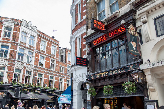 City of London: Bishopsgate - Dirty Dicks London