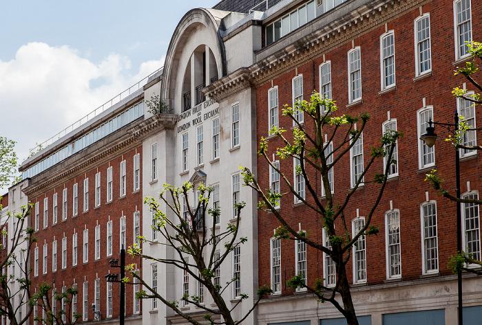 Spitalfields: Brushfield Street - London Fruit and Wool Exchange