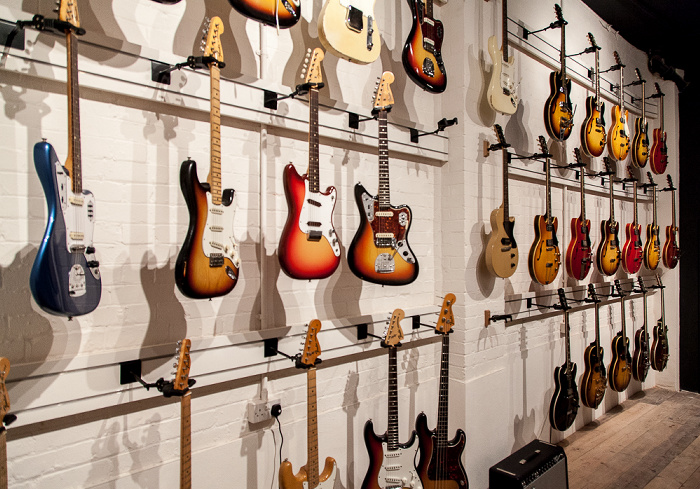 London Shoreditch: Vintage Guitar Boutique