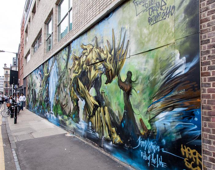 London Shoreditch: Redchurch Street - Graffiti