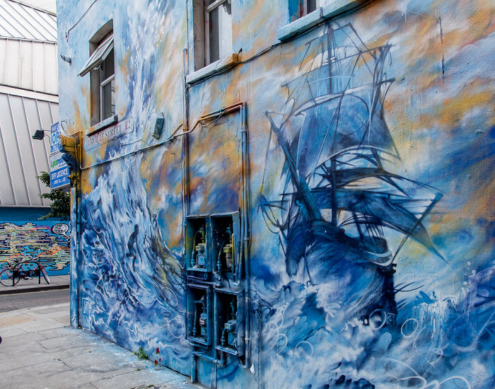 London Shoreditch: Turville Street - Graffiti