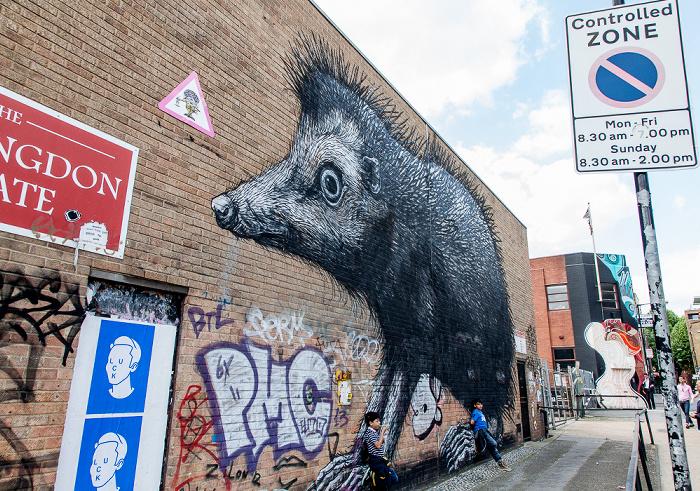 London Shoreditch: Chance Street - Graffiti