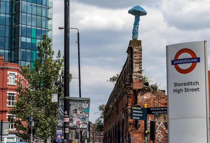 London Shoreditch: Bethnal Green Road