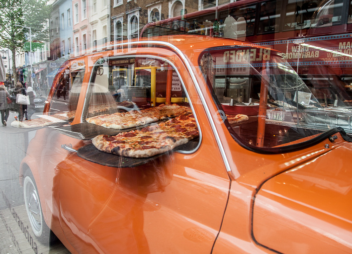London Notting Hill: Pembridge Road - Pizzeria Arancina