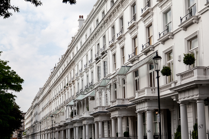 London Belgravia: Cadogan Place