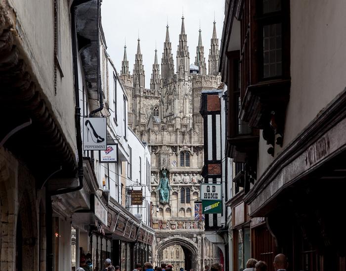 Mercery Lane, Christ Church Gate, Canterbury Cathedral