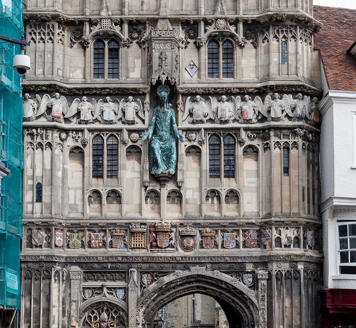Canterbury Christ Church Gate