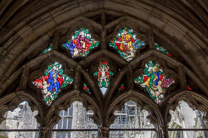 Canterbury Cathedral: Kreuzgang