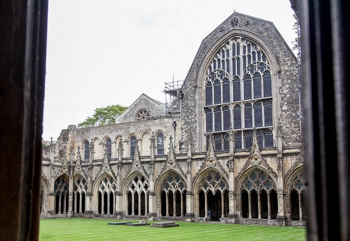 Canterbury Cathedral: Kreuzgang und Kapitelsaal