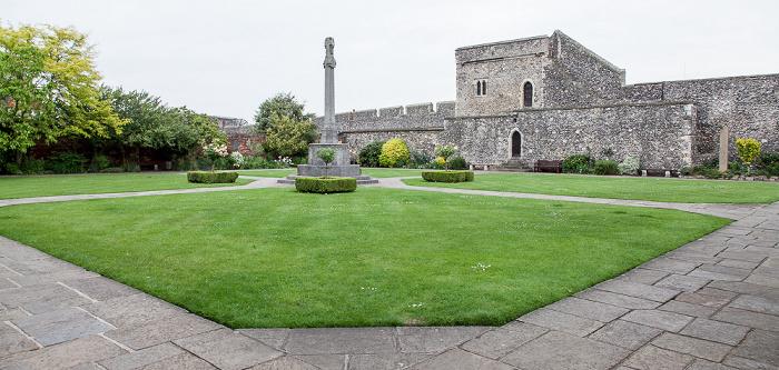 Canterbury Kent War Memorial Garden Canterbury City Walls