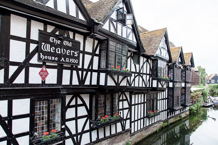 Canterbury St Peter's Street: The Old Weavers House Great Stour