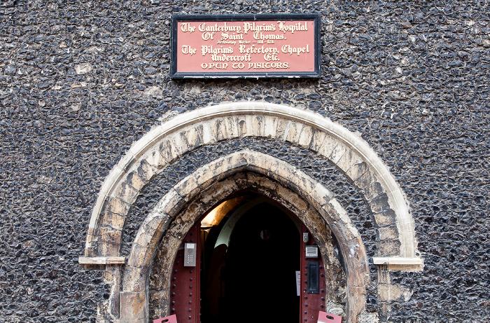 Canterbury St Peter's Street: Pilgrim's Refectory Chapel