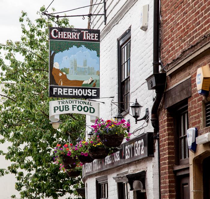 Canterbury White Horse Lane: The Cherry Tree