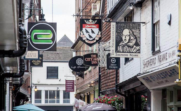 Canterbury Butchery Lane: The Shakespeare