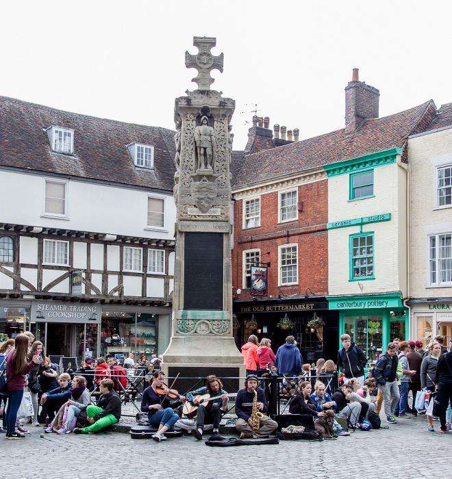 Canterbury Burgate: War Memorial