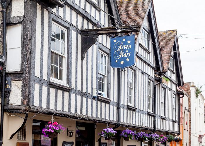 Canterbury Orange Street: Seven Stars