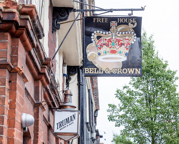 Canterbury Palace Street: The Bell & Crown