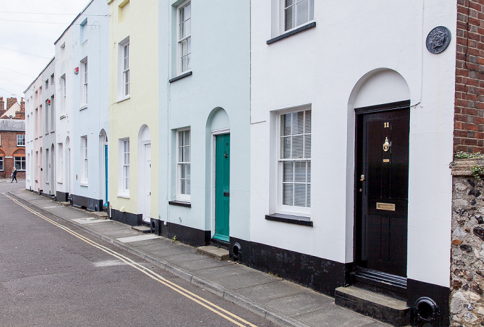 Canterbury Blackfriars Street: Highbury Cottages