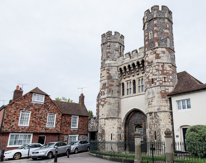 Canterbury Monastery Street: The King's School (St Augustine's)