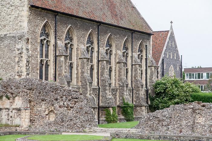 Canterbury St Augustine's Abbey, The King's School (St Augustine's) mit der School Library
