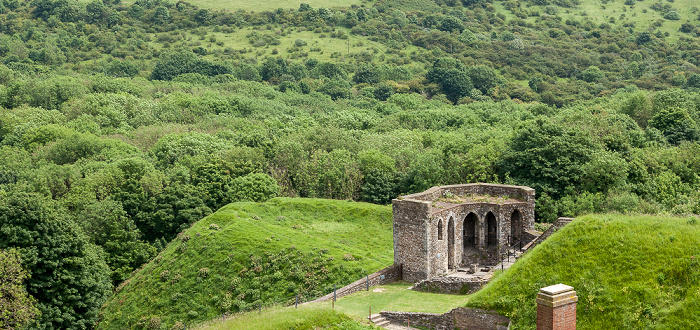 Dover Castle: Blick vom Great Tower