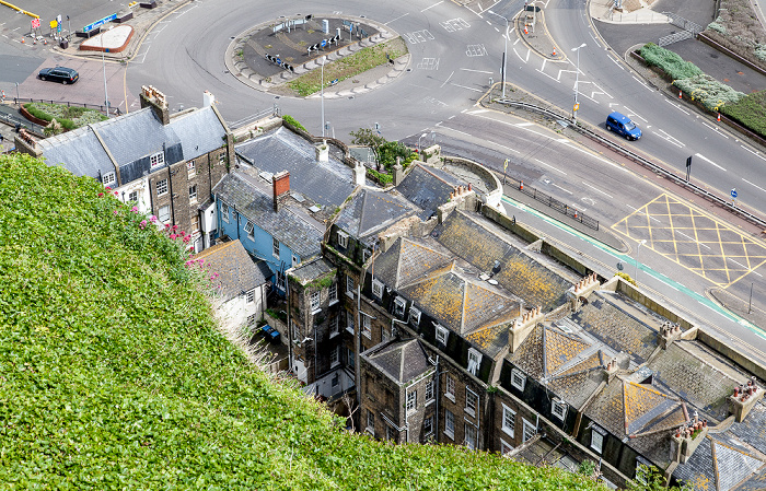 Dover Castle: Blick vom Admiralty Lookout