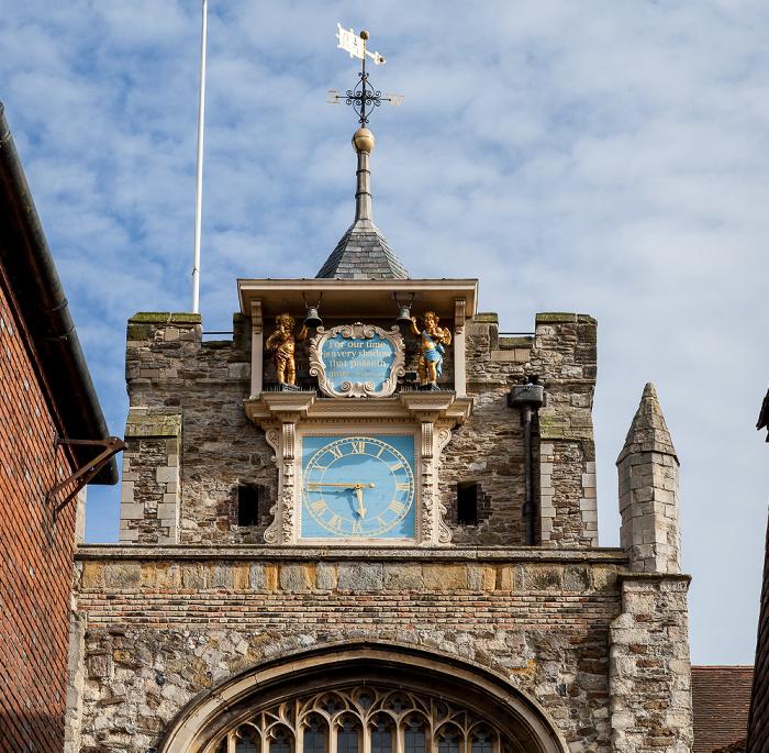 Rye Parish Church St. Mary: Uhrturm