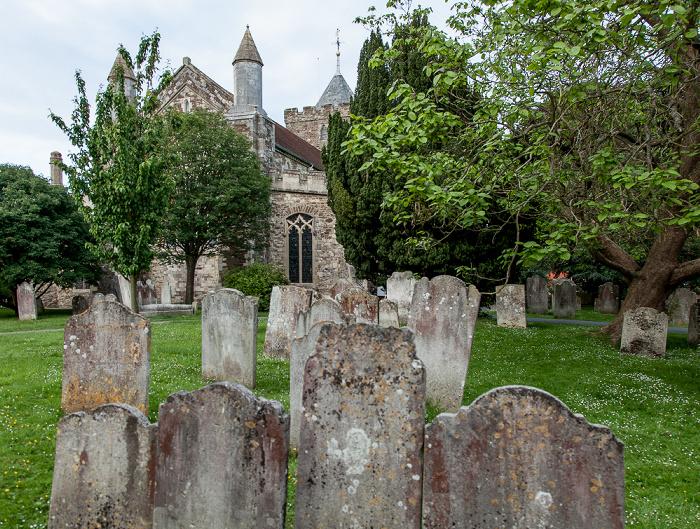 Rye Parish Church St. Mary: Friedhof