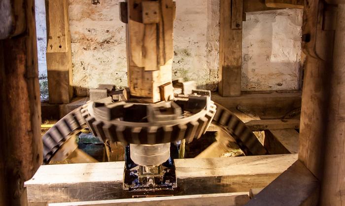 Burwash Bateman's (Alterswohnsitz des Schriftstellers Rudyard Kipling): Mühle