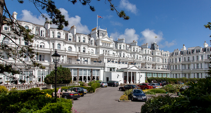 Eastbourne Seafront: The Grand Hotel