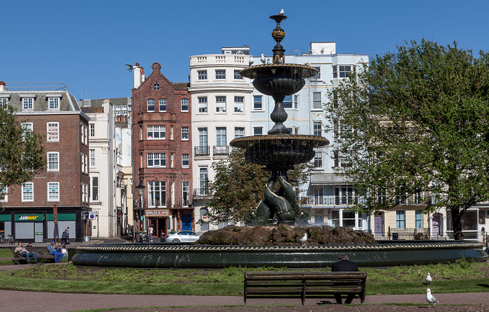 Brighton Old Steine Gardens: Victoria Fountain