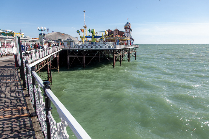 Brighton Pier (Brighton Marina and Palace Pier), Ärmelkanal (English Channel)