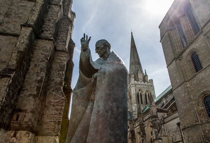 Chichester Cathedral, Richard-of-Chichester-Denkmal