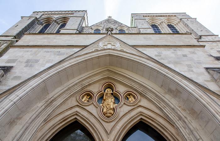 Chichester Cathedral: Westfassade