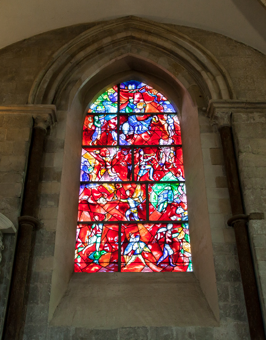 Chichester Cathedral: Fenster von Marc Chagall