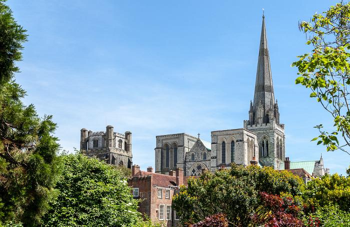 Garten des Bischofspalastes, Chichester Cathedral