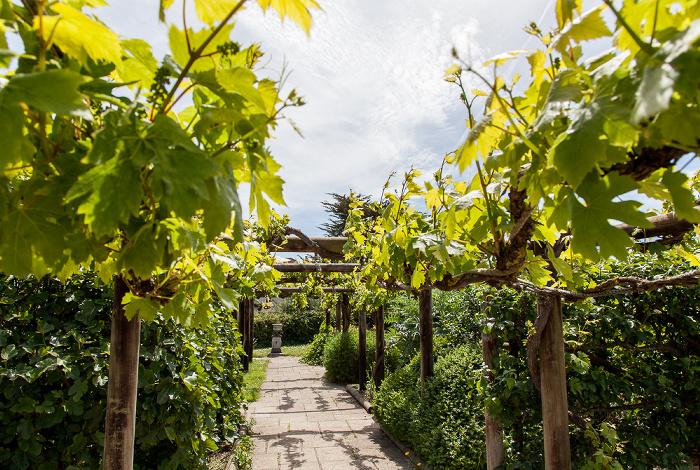 Fishbourne Roman Palace: Garten