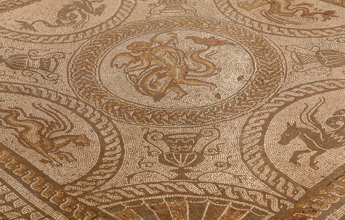 Fishbourne Roman Palace: Museum - Mosaik