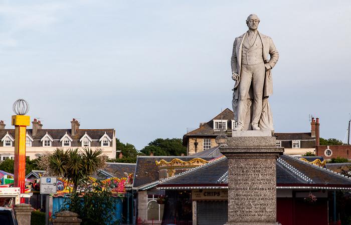 Weymouth The Esplanade: Henry-Edwards-Denkmal Alexandra Gardens