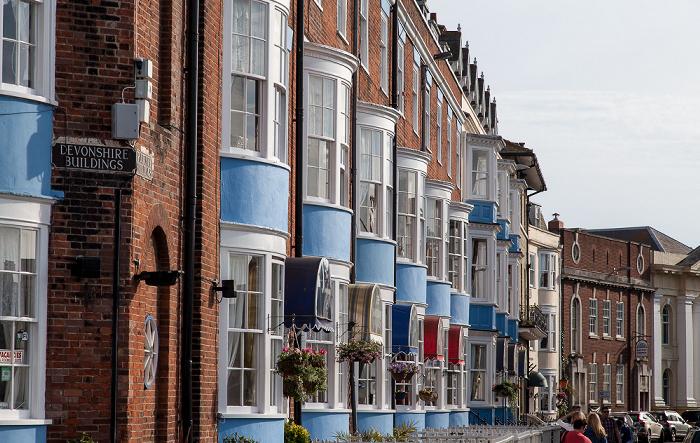 Weymouth The Esplanade: Pulteney Buildings