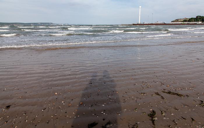 Strand, Weymouth Bay, Ärmelkanal (English Channel)