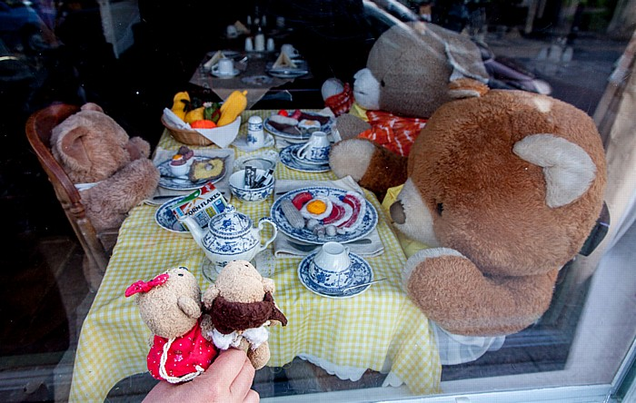Weymouth The Esplanade: Teddine und Teddy