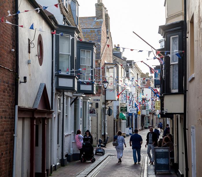 Weymouth Melcombe Regis: St Alban Street