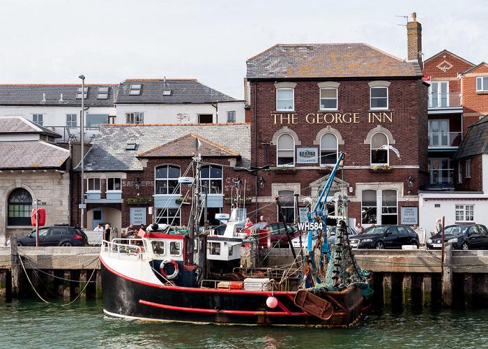Weymouth Harbour: The George Inn