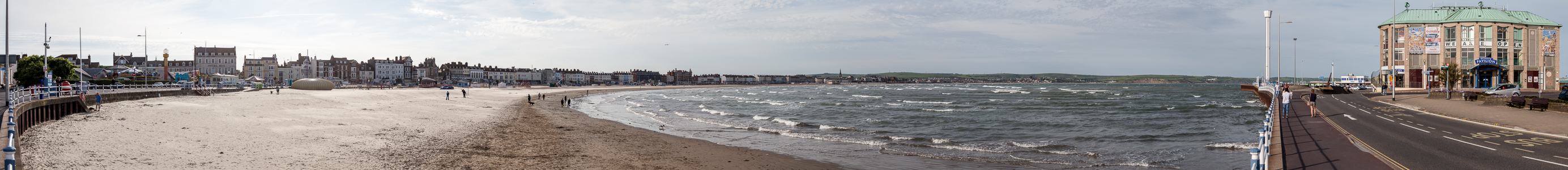 The Esplanade, Strand, Weymouth Bay, Ärmelkanal (English Channel), Weymouth Pavilion