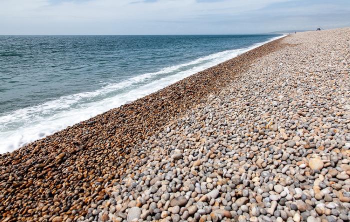 Weymouth Chesil Beach, Ärmelkanal (English Channel)