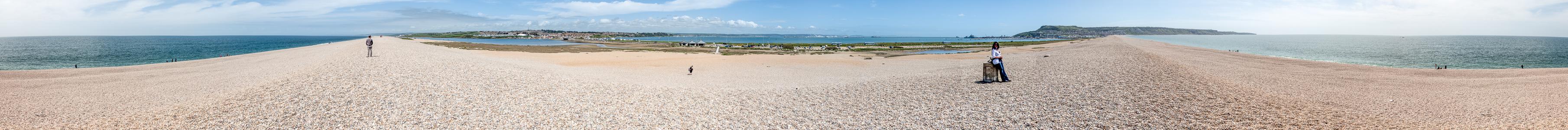Ärmelkanal (English Channel), Chesil Beach, The Fleet, Weymouth, Portland Harbour, Portland, Ärmelkanal