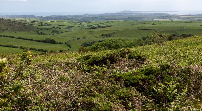 Black Down Blick auf Dorset und den Ärmelkanal (English Channel)