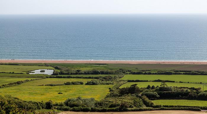 Dorset, Chesil Beach (Jurassic Coast), Ärmelkanal (English Channel)
