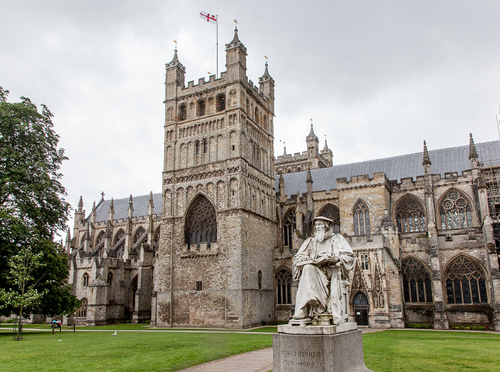 Exeter Cathedral, Richard-Hooker-Denkmal